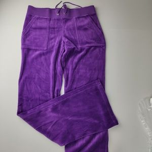 Juicy Couture Sweatpants Purple Size Small